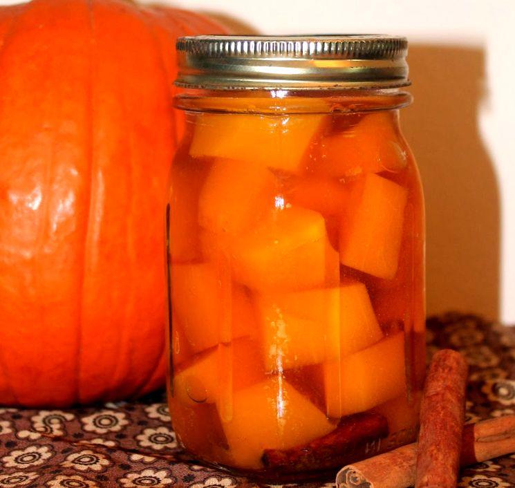 Рецепт маринованной тыквы