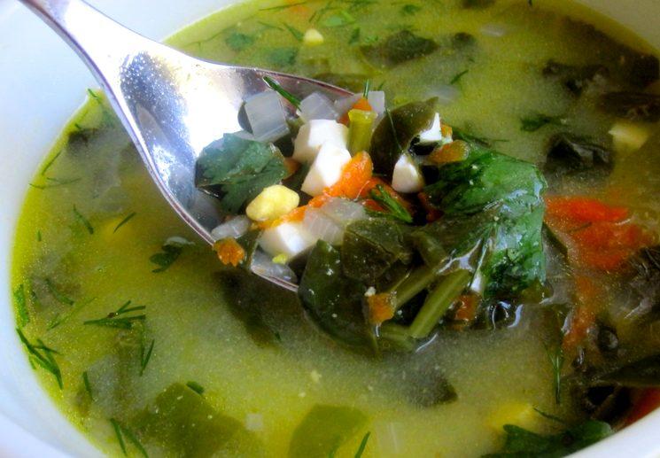 Рецепт зеленых щей из щавеля